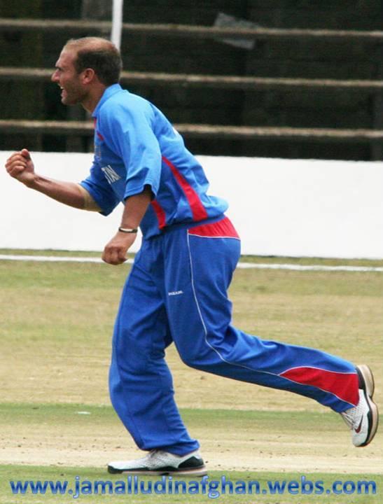 mirwais ashraf kharoti kenya get a wicket